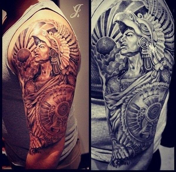 Aztec Tattoo Designs 6