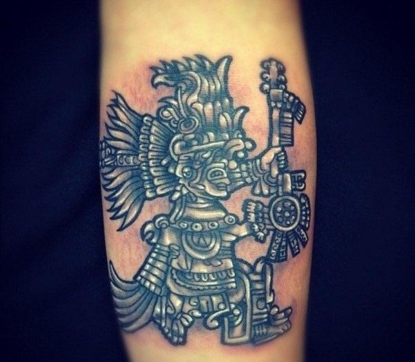 Aztec Tattoo Designs 8