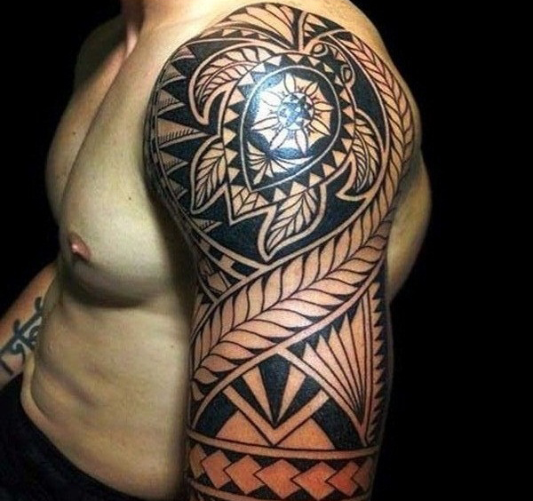 Aztec Tattoo Designs 9