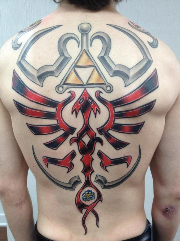 Game Tattoo Designs for Boys and Girls 10