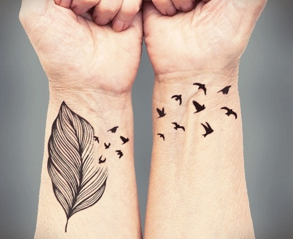 Leaf Tattoo Design Ideas 11