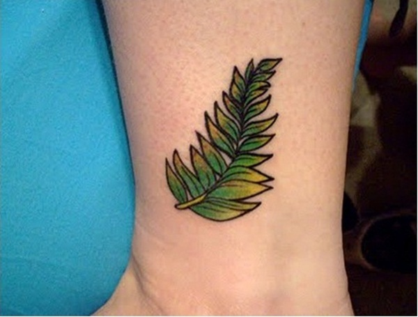 Leaf Tattoo Design Ideas 16