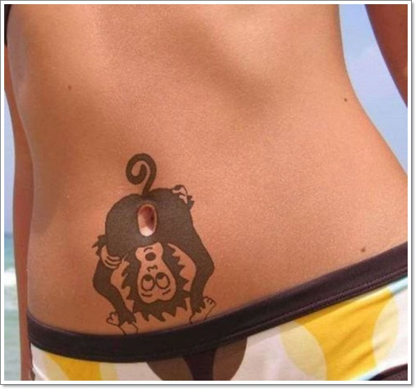 Monkey Tattoo Designs 11