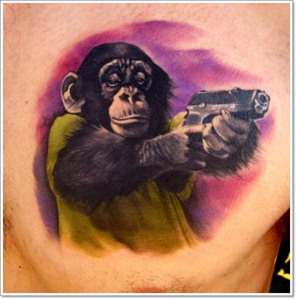 Monkey Tattoo Designs