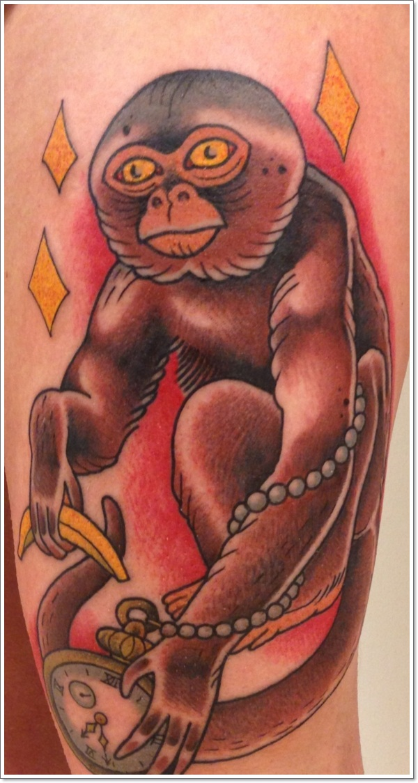 Monkey Tattoo Designs 13