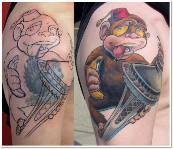 Monkey Tattoo Designs 15