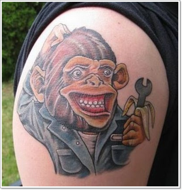 Monkey Tattoo Designs 16