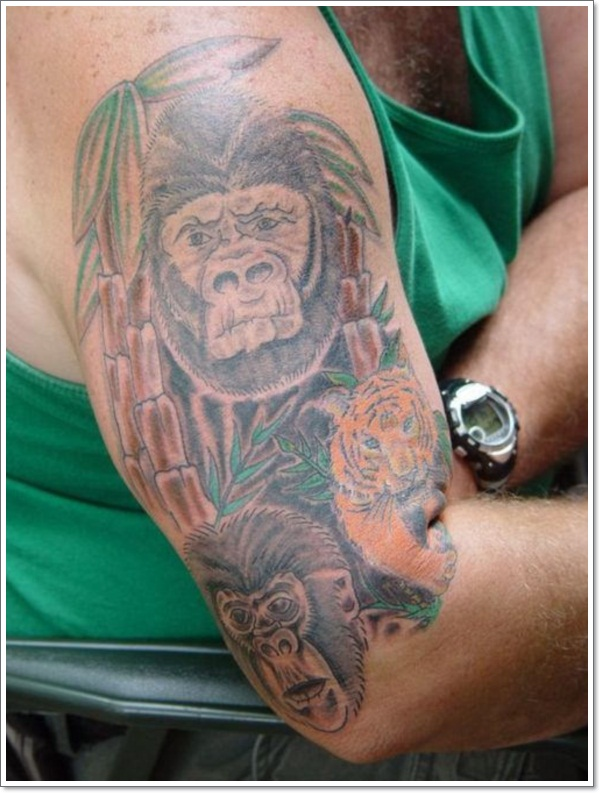 Monkey Tattoo Designs 26