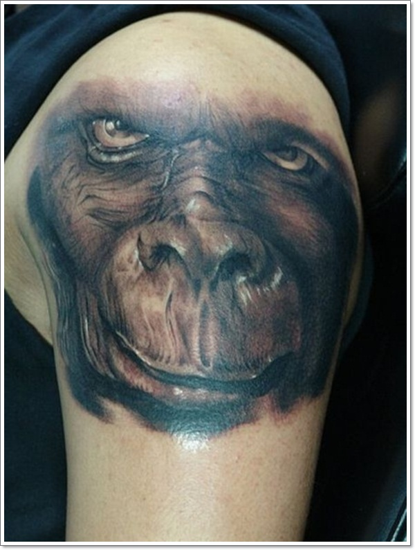 Monkey Tattoo Designs 27