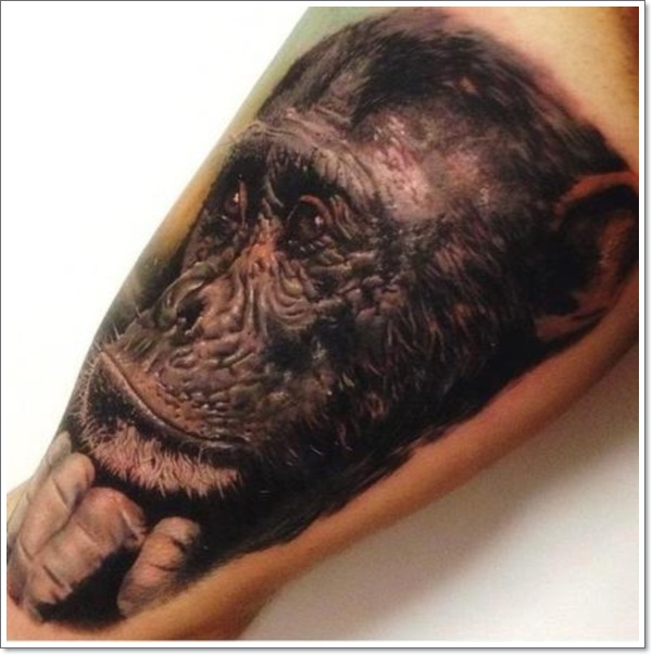 Monkey Tattoo Designs 29