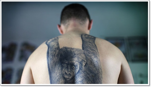 Monkey Tattoo Designs 3