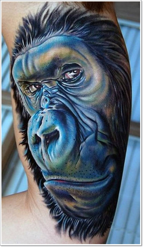 Monkey Tattoo Designs 30