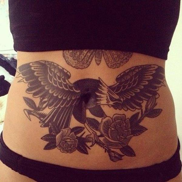 Stomach Tattoo Designs and Ideas