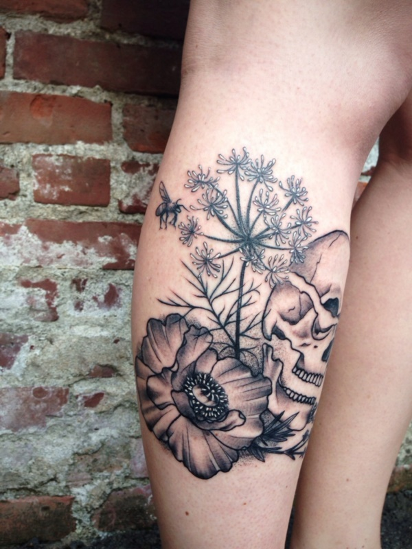 Stunning Black And Grey Tattoos 4