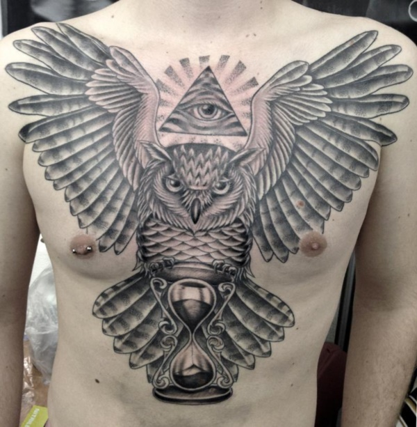 Stunning Black And Grey Tattoos 44