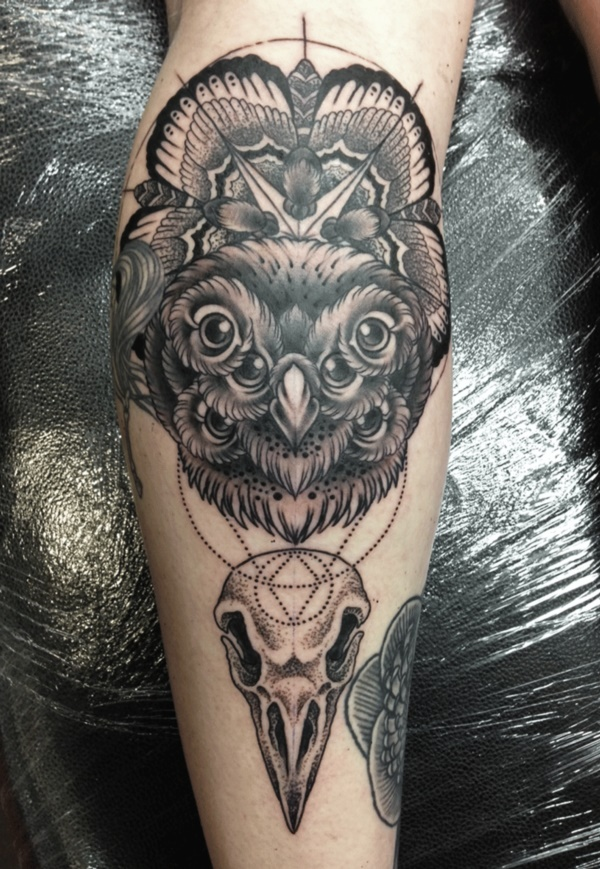 Stunning Black And Grey Tattoos 45