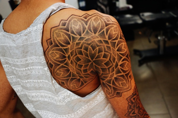 Stunning Black And Grey Tattoos 7