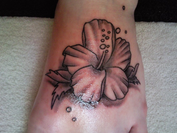 foot tattoo designs for girls 15