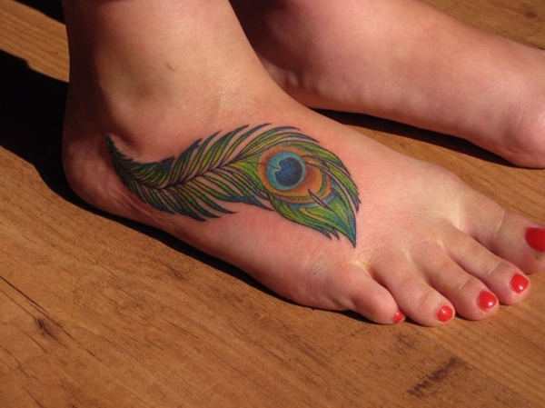 foot tattoo designs for girls 6