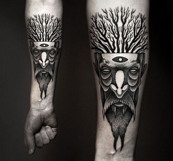 Forearm Tattoos for Men Women 28