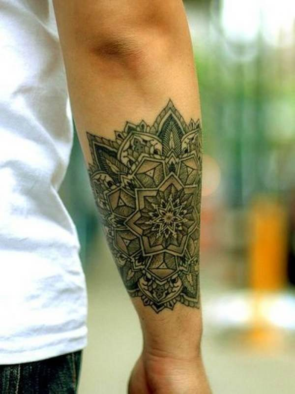 Forearm Tattoos for Men Women 30