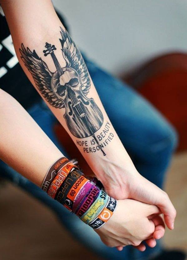 Forearm Tattoos for Men Women 33