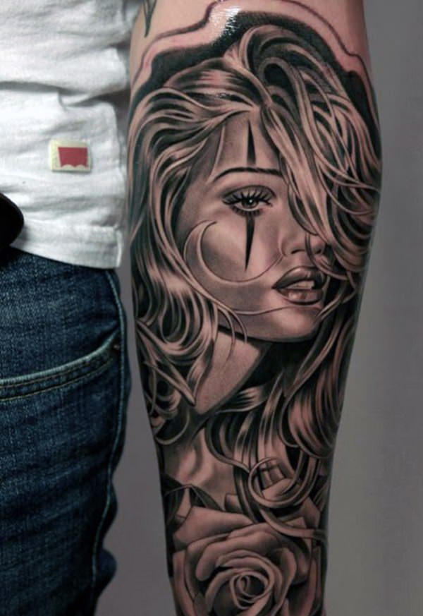 Forearm Tattoos for Men Women 34