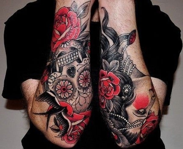 Forearm Tattoos for Men Women 51