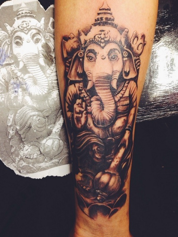 Forearm Tattoos for Men Women 55