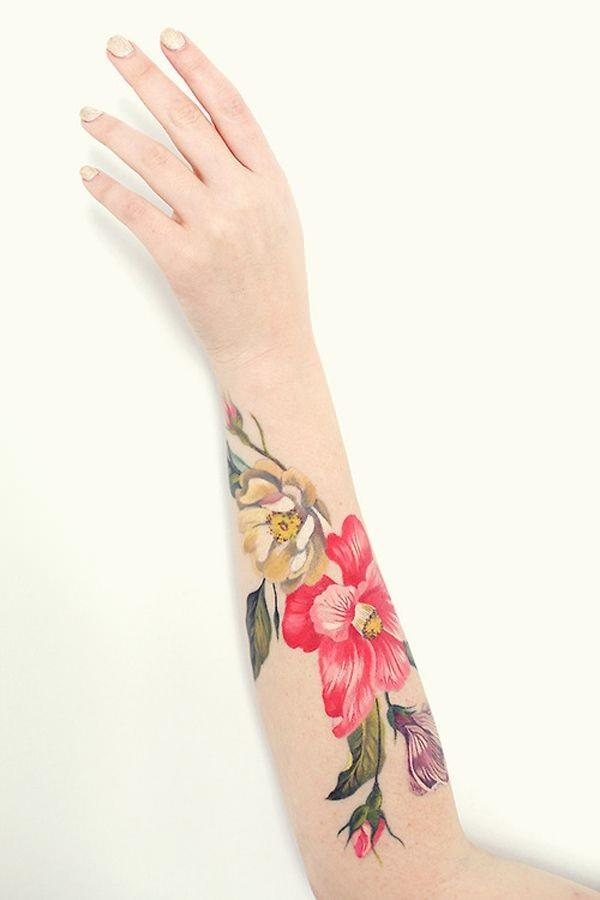 Forearm Tattoos for Men Women 65