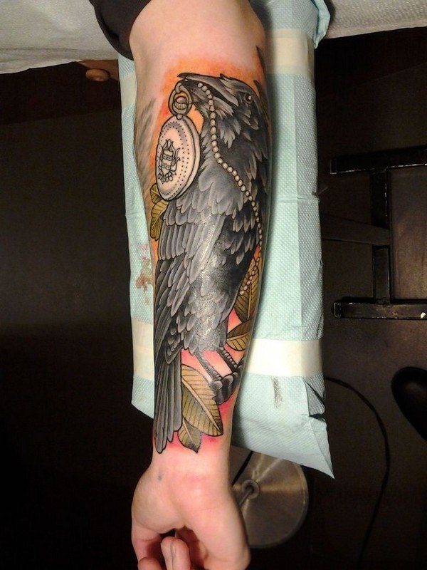 Forearm Tattoos for Men Women 77