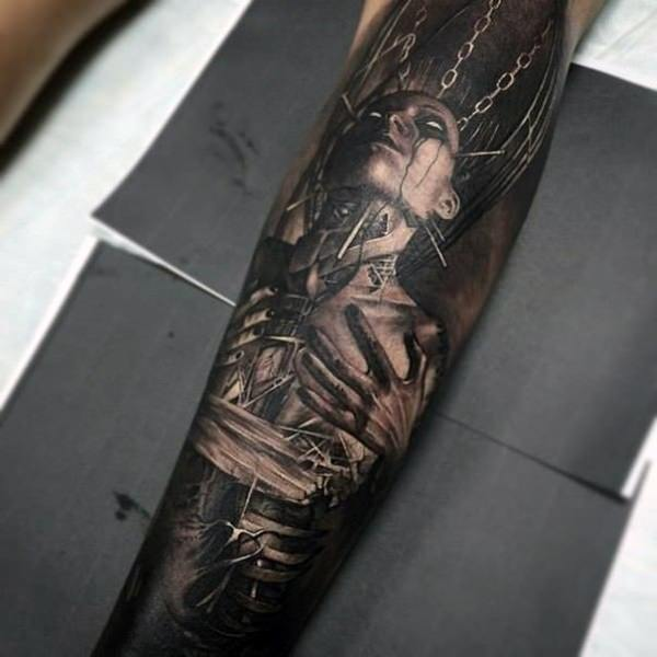 Forearm Tattoos for Men and Women 17
