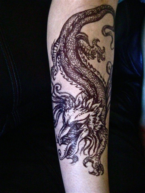 Forearm Tattoos for Men and Women 2