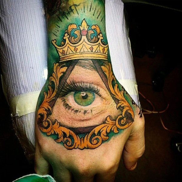 Intriguing Crown Tattoos for Men