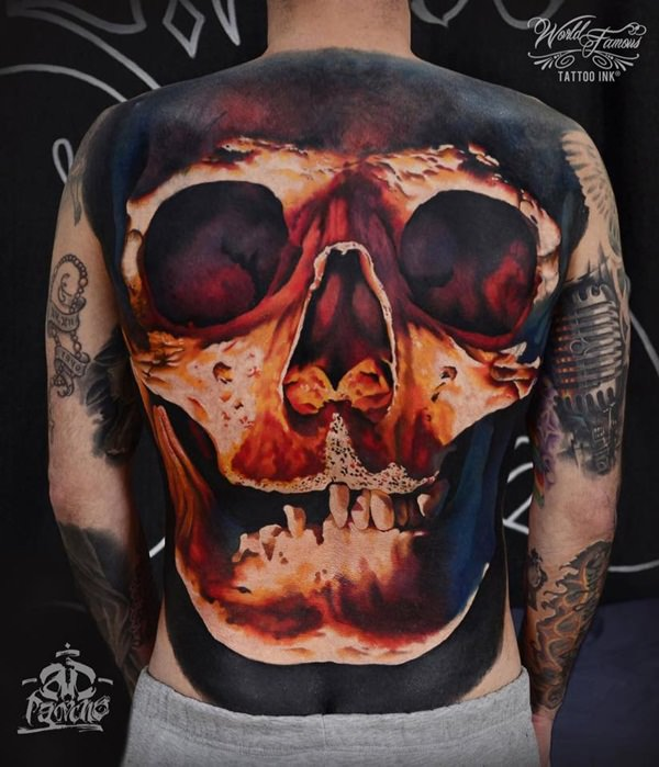 Skull Tattoos for Men and Women 102