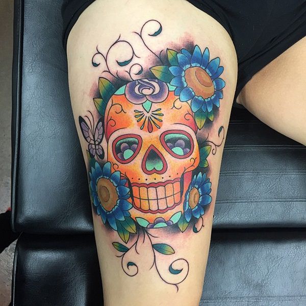 Skull Tattoos for Men and Women 103