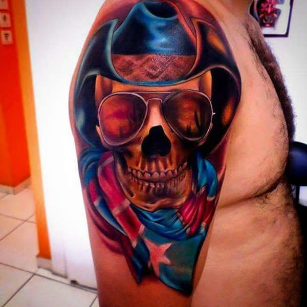 Skull Tattoos for Men and Women 16
