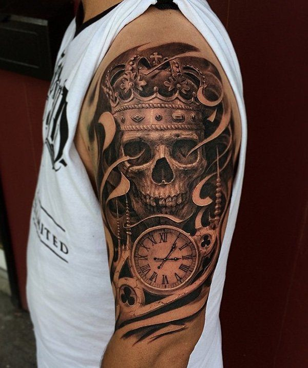 Skull Tattoos for Men and Women 17