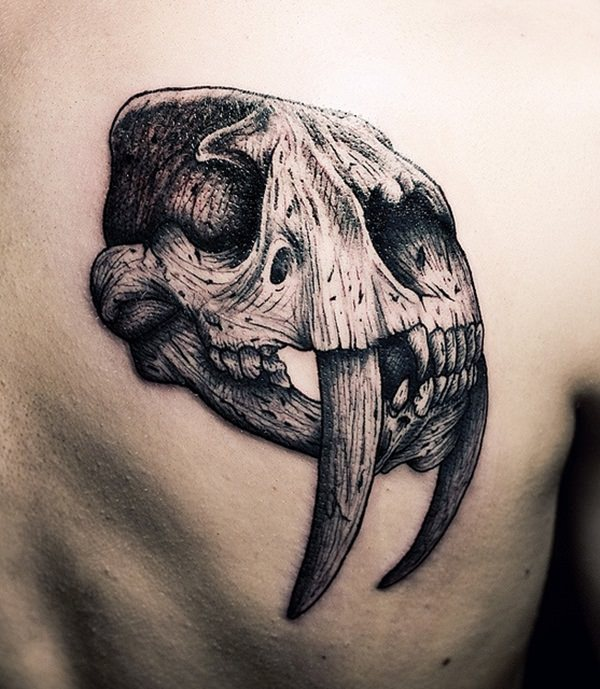 Skull Tattoos for Men and Women 22