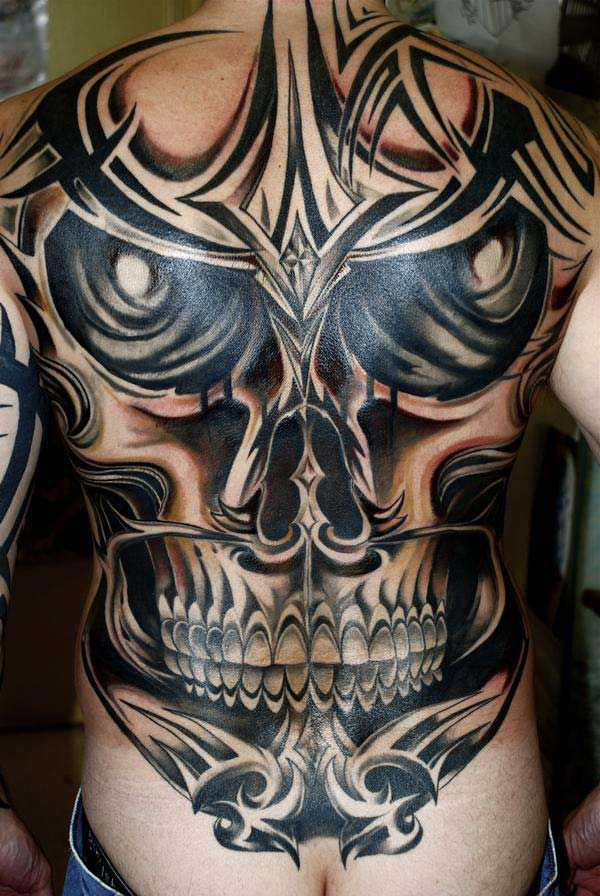 Skull Tattoos for Men and Women 23