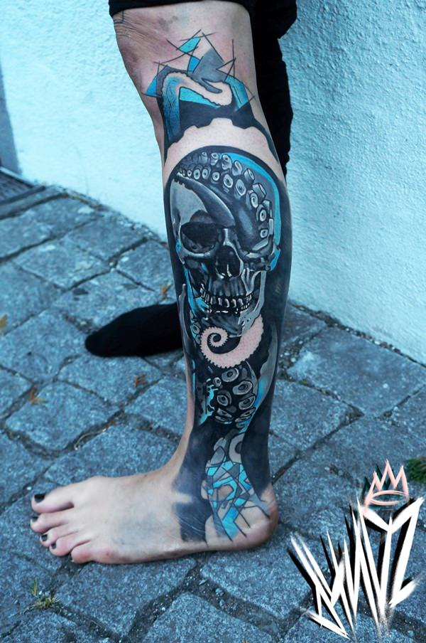 Skull Tattoos for Men and Women 24