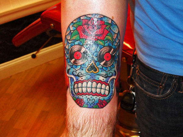 Skull Tattoos for Men and Women 26