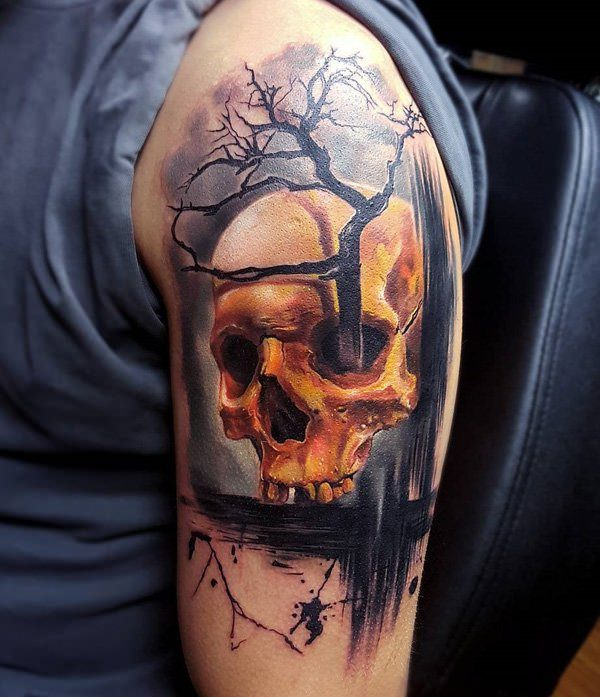Skull Tattoos for Men and Women 31