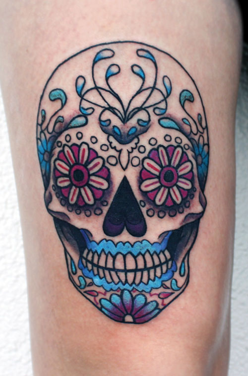 Skull Tattoos for Men and Women 33