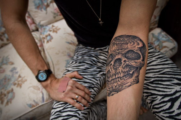 Skull Tattoos for Men and Women 4