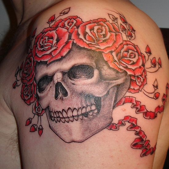 Skull Tattoos for Men and Women 44