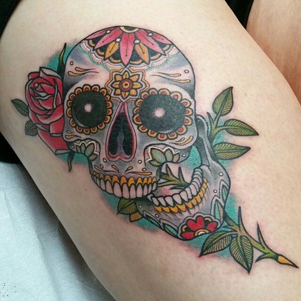 Skull Tattoos for Men and Women 45