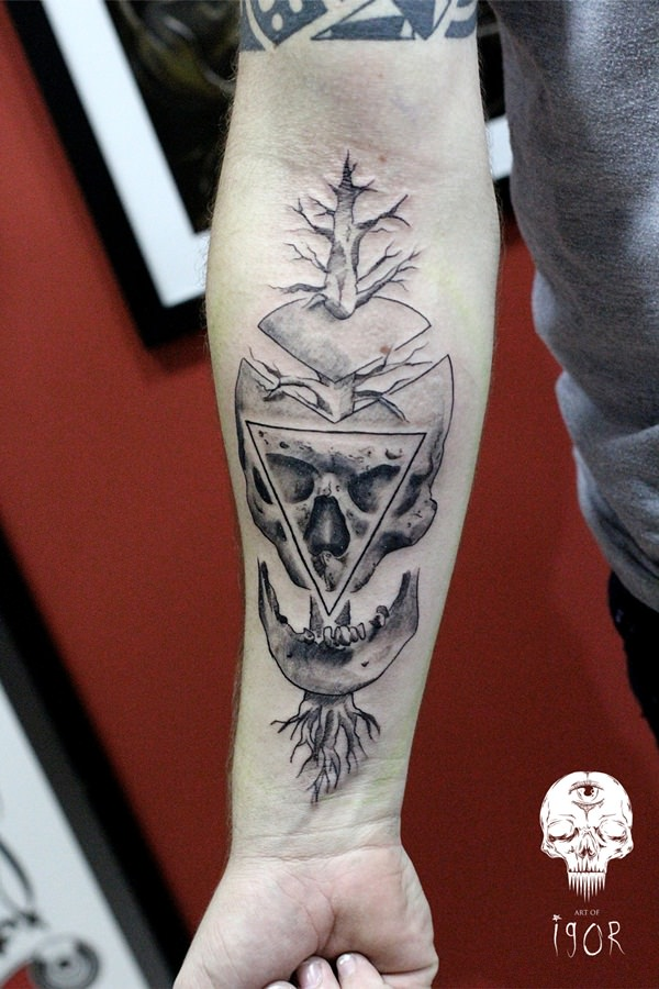 Skull Tattoos for Men and Women 52