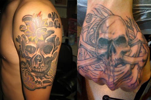 Skull Tattoos for Men and Women 54