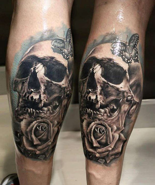 Skull Tattoos for Men and Women 60